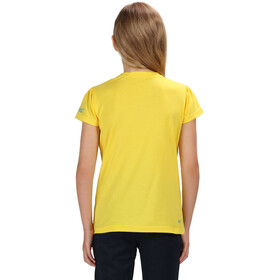 Regatta Bosley II T-Shirt Fille, sunbeam